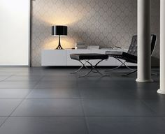 Gres porcellanato per pavimento o rivestimento Natural Trend Black, Ceramica Sant'Agostino   GiornoIdea.com
