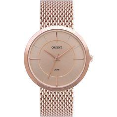 519cf25de86 Relógio Feminino Orient Analógico Casual FRSS0006 Por R  131