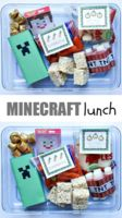 Cute Minecraft lunch for a special day!