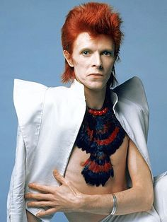 1972 Feather Necklace - David Bowie Photos..NOT HIS BEST..KICKED IT..BRAVO!!