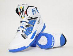 #adidas #Mutombo OG White Blue #sneakers