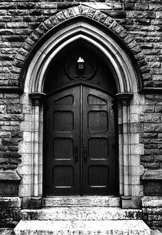 Gothic Door By Camphoto Love Stonework