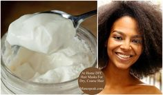 Natural hair - The Best DIY Deep Conditioning Hair Masks for Dry Natural Hair