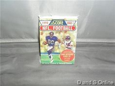 SCORE 1990 SERIES 1 NFL TRADING CARDS