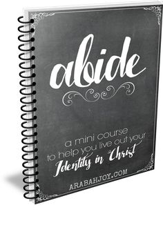 FREE mini course on abiding in Christ!