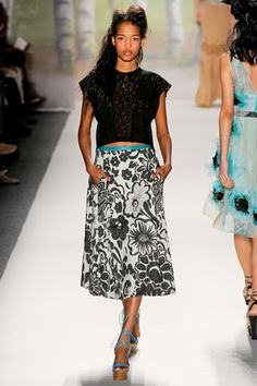 Tracy Reese s/s 2012