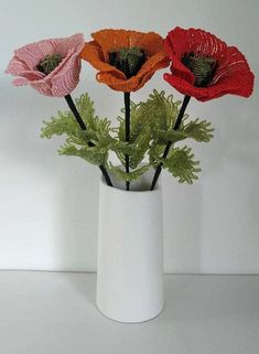 Himalayan poppies, red poppies, french beaded flowers, poppies, mom gift, gift for her. This fake poppy and made with high quality beads always remain fresh and beautiful over time. Artificial flowers are unique and beautiful existence, can be used for home, office, party, garden, hotel, cafe, festival, party, wedding