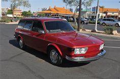 Sold* at Orange County 2012 - Lot #11 1973 VOLKSWAGEN 2 DOOR WAGON