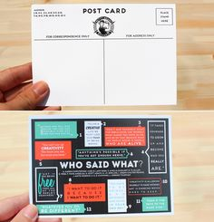 Postcard Design Ideas postcard design ideas Simple Postcard Design Design Type Pinterest Design Inspiration And Direct Mail