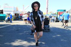 State Fair: http://www.sheislovelyblog.com/2015/09/state-fair.html feat. Aeropostale buffalo plaid shirt, Forever 21 olive green cocoon dress, Nike flyknits, Ray-Ban mirrored sunglasses, Strands gold and turquoise fringe necklace, Madewell gold cutout bracelet, Daniel Wellington Classic Sheffield Lady watch, Forever 21 grey wide-brim fedora, and Louis Vuitton eva clutch in Damier Ebene. #aeronow #aerovip