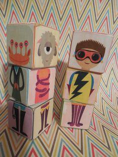 Sarah's World: Christmas Crafting Early DIY Wood Toy (Olli) Blocks
