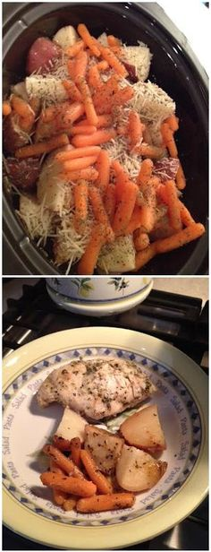 Italian Crockpot Chicken