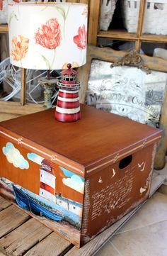Ankara, Toy Chest, Storage Chest, Decoupage, Toys, Baby, Furniture, Home Decor, Sailor