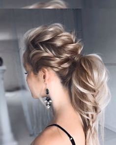 Here's the key point. Your hair is long or short, you know that each model will look very stylish. But you have to decide on a single model and it is very worrying to know that. All you need to do is to determine all the models in your mind, give yourself time for the special day and do hair rehearsals before the wedding.  #hairstyle #haircut #haircolor #weddinghair #hairtips #hairtutorials #bridalhair #hairdesign #braidedpromupdos