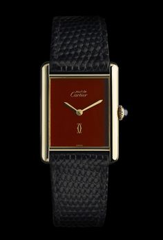Three Unusual Cartier Tank Watches from the Past Years – Best Accessories Best Watches For Men, Big Watches, Luxury Watches For Men, Cool Watches, Cartier Watches, Unusual Watches, Wrist Watches, Cartier Tank, Swatch