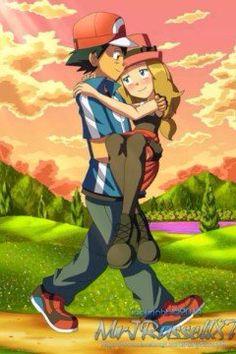 Ash x Serena