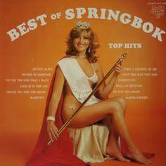 Springbok: Springbok Hit Parade Best Of / Top Hits Cover Art, Lp Cover, Vinyl Cover, Vinyl Record Art, Vinyl Records, Spit Take, Greatest Album Covers, Retro Pictures, Great Albums