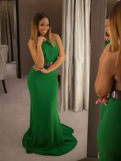 minnie dlamini - Green