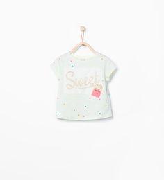 """""""Sweet"""" T-shirt from Zara $17.90"""