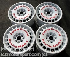 """Racing Hart 15"""" D Spec Superlative Racing Dish with Decals Such an awesome and rare JDM wheel !"""