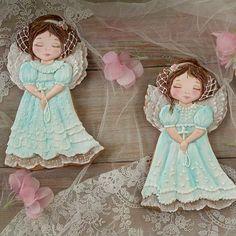 Вот они мои Ангелочки. #пряникиотгалинызагребельной #подарки