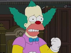 Krusty: Bi-Polar Disorder You have Krusty's Bi-Polar Disorder! You often find yourself over zealous when it comes to work, relationships and personal pursuits, but you still get distracted easily. You don't necessarily suffer from low self esteem or have problems expressing yourself, but sometimes you overreact in a situation that doesn't call for such dramatics. For you, impulsivity is the name of the game and you like to take risks, which can be okay sometimes; just remember to find a…