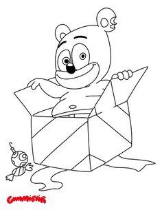 download a free printable gummibr december coloring page httpwwwthegummybear