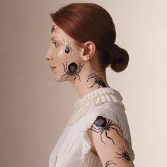 Irresistible Ink: Halloween Temporary Tattoos
