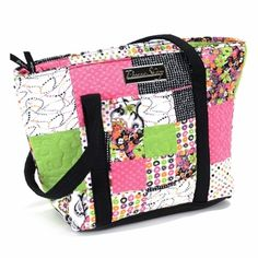 Leah Glam Patch Tote by Donna Sharp