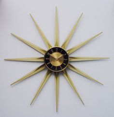 1000 Images About Atomic Wall Clocks On Pinterest Wall