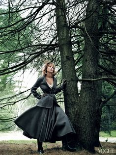 US VOGUE SEPTEMBER 2013 Jennifer Lawrence by Mario Testino