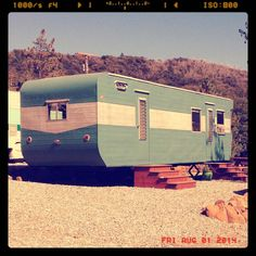 9 Great Vintage Mobile Home Campgrounds with Nightly Rentals  http://mobilehomeliving.org/9-great-vintage-travel-trailer-campgrounds/