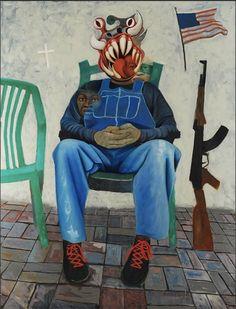American Taliban Artist:  Nicholas Wolfson