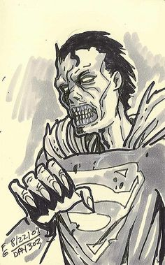 Zombie Superman | Day 303 - Zombie Superman