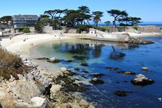 Beautiful Lovers Point in Pacific Grove, California,,,,short walk from Cannery Row