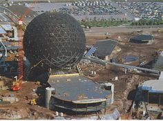 1970s and 1980s --- Photos of the consturction of Walt Disney World in Orlando - (20 Photos)