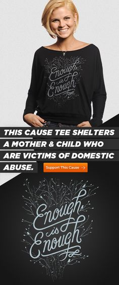 What do you think about this new cut ladies? :) Pick one of these cute #Sevenly tees up and provide sheltering to a domestically abused #mother and child!  #DoGood Get tee here ---> http://svnly.org/PinLink