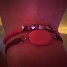 Nye #armbånd med perla fra #gavekalender fra @diy_gds  #diy #diybracelet