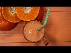 Smoothie cu mandarine și coacăze - YouTube Grapefruit, Smoothies, Vegan, Orange, Youtube, Food, Banana, Smoothie, Meal