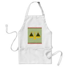 lawyer Christmas Adult Apron - attorney lawyer business personalize unique counsel