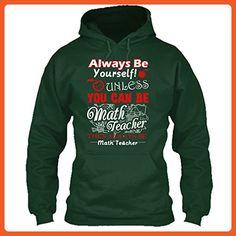 Math Teacher Cool Tee Shirt - I Love My Math Teacher T-Shirt For You And Family Hoodie (XXXL,Forest) - Relatives and family shirts (*Partner-Link)