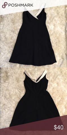 Black and White Ann Taylor Dress Black and White Ann Taylor Dress. Ann Taylor Dresses Midi