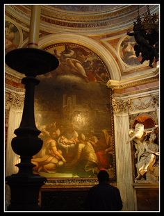 Chigi Chapel Raphael designed the Chigi Chapel in Santa Maria Del Popolo. The altarpiece was painted by Sebastiano Del Piombo and the sculptures are by Bernini and Lorenzetto.