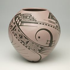 Mata Ortiz Pottery: Amethyst Pot  From Chihuahua to the world