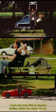 John Hughes did not direct my life - Easy A