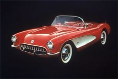 Chevrolet Corvette: Celebrating 60 Years as an Icon #corvette