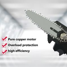 Rechargeable MINI Lithium Chainsaw -【70% OFF CYBER WEEK SALE】 – Your Fancy Deals Hand Chain Saw, Mini Chainsaw, Electric Chainsaw, Electric Saw, Cool Gadgets To Buy, Sale 50, Wood Cutting, Cool Tools, Garden Tools