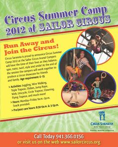 """Sailor Circus, The Greatest """"Little"""" Show on Earth, Sarasota, Florida -- About Us"""