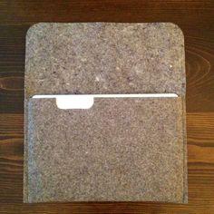 DIY Felt Laptop sleeve