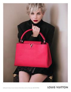 Michelle Williams para Louis Vuitton. Otoño 2013